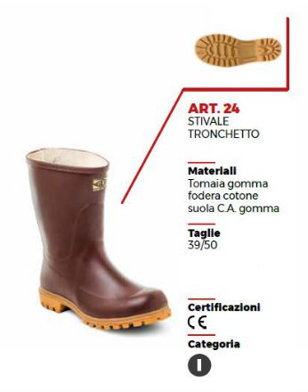 STIVALE TRONCHETTO MARRONE CON CARRO ARMATO TG 39