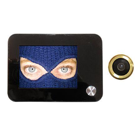 Spioncino digitale con monitor lcd 3,5 pollici risoluzione  1,3 megapixel