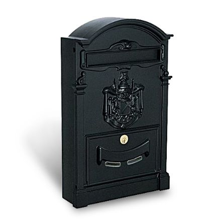 cassetta postale residence maxi nera