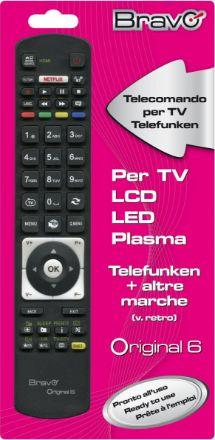 telecomando dedicato per tv telefunken ed altre marche