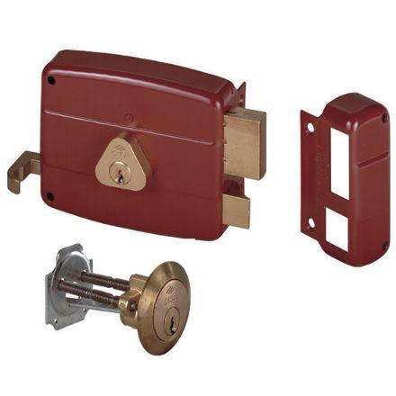 Serrature da applicare a cilindro entrata mm 50 sinistra tirante e cilindro interno