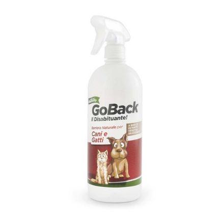 Repellente naturale per cani e gatti go back   750 ml