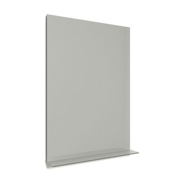 Immagine di Specchiera con mensola luminosa led 100 x 60 cm
